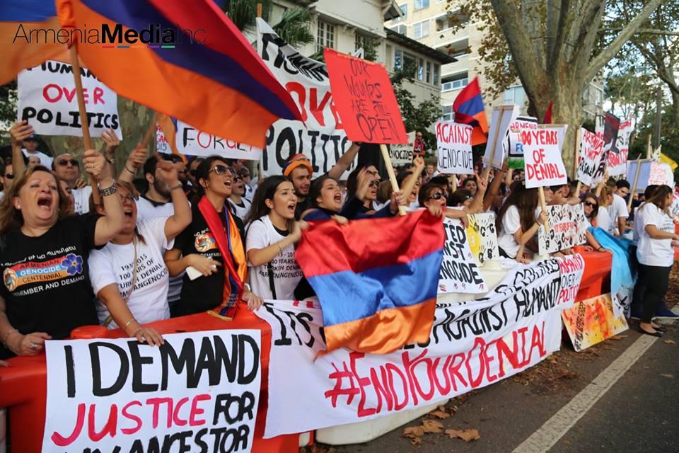 Image result for australia armenian genocide demonstration